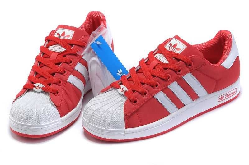 Réduction de prix adidas superstar rouge homme www